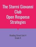 The Stormi Giovanni Club Open Response Strategies (Reading Street 2011)