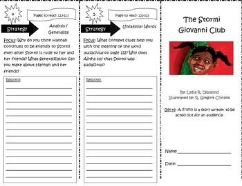 The Stormi Giovanni Club Reading Street 5th Grade Unit 4 Week 4