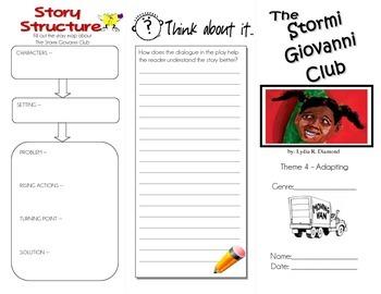 The Stormi Giovanni Club trifold (Grade 5 Unit 4 - Story 4)