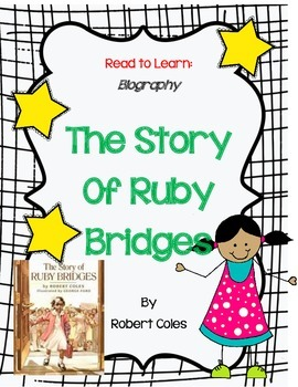 The Story Of Ruby Bridges - A Complete Book Response Journal
