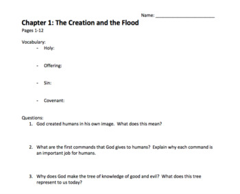 The Story: Reading Questions, Discussion Questions, Tests