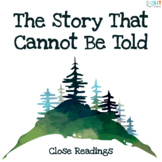 The Story That Cannot Be Told: Close Reading Activities, G