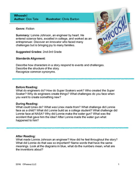 The Story Whoosh-Activity Guide