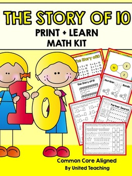 The Story of 10 Print + Learn Math Kit