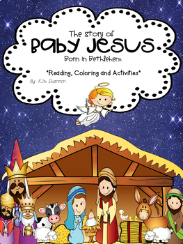 The Story of Baby Jesus, Christmas Story for Kids Lesson ...