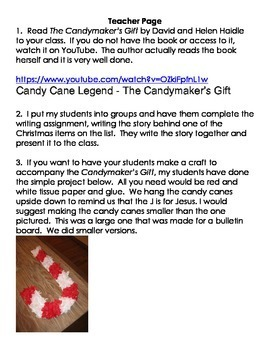 The Story of Christmas Stockings Readers' Theater / Writing Activity