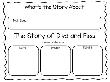 The Story of Diva and Flea ~ 67 pgs of Common Core Activities