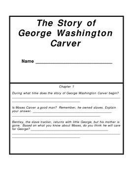 The Story of George Washington Carver Packet