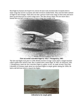 The Story of Glider Planes for Kids