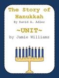The Story of Hanukkah Book Unit