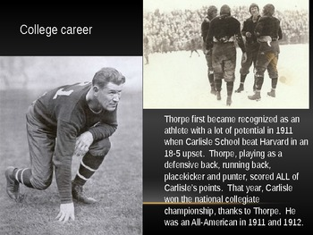 The Story of Jim Thorpe: The Greatest Athlete of All Time