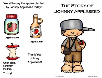 The Story of Johnny Appleseed Book