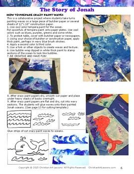 Art Lesson: The Story of Jonah