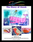 Art Lesson: The Story of Jonah Watercolor Drawing and Pain