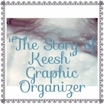 """The Story of Keesh"" Conflicts Graphic Organizer   Code X Unit 2"