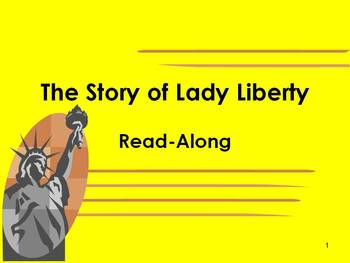 The Story of Lady Liberty and Sight Word Lesson