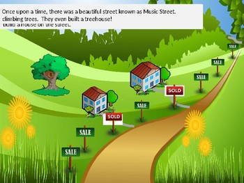 The Story of Music Street- Introducing Solfege and Hand Signs