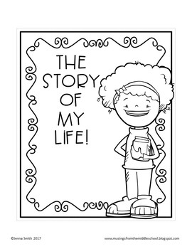 The story of my life cover page templates by musings from the the story of my life cover page templates maxwellsz