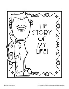 The Story of My Life - Cover Page Templates