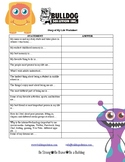 The Story of My Life Worksheet