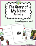The Story of My Name A Celebration