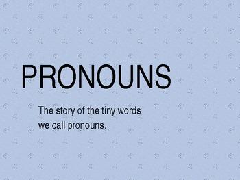 The Story of Pronouns