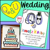 Digraph QU - The Story of Q and U - Wedding of Q and U
