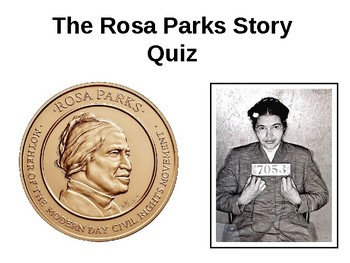 Rosa Parks and the Montgomery Bus Boycott  Story and Quiz
