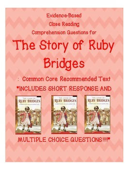 The Story of Ruby Bridges Close Reading Questions