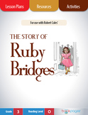The Story of Ruby Bridges Lesson Plans & Activities Package, Third Grade (CCSS)