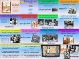 The Story of Ruby Bridges Vocabulary Slide Show--CC Aligned