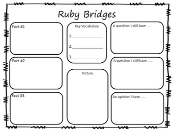 The Story of Ruby Bridges by Robert Coles  61 pgs. Common Core Activities