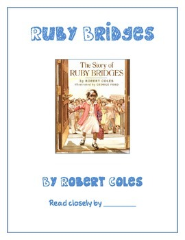 The Story of Ruby Bridges by Robert Coles Common Core Knowledge Exemplar Text