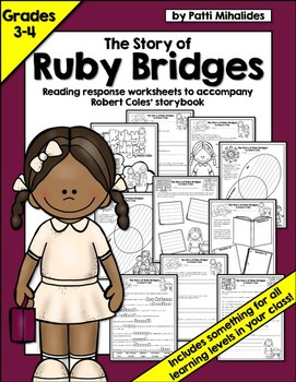 The Story of Ruby Bridges by Robert Coles: reading response/comprehension