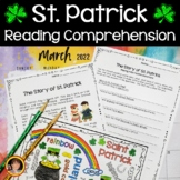 St. Patrick's Day Reading Comprehension Activities