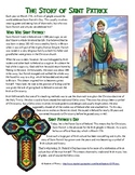 St. Patrick's Day History Reading, Worksheet, and Celtic Cross Activity