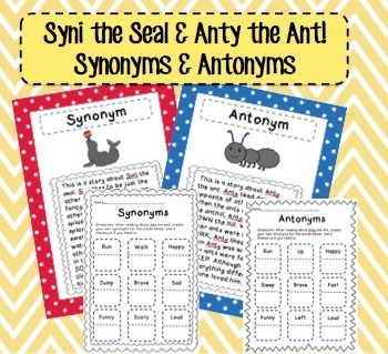 The Story of Syni & Anty (Synonyms & Antonyms)