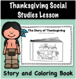 Thanksgiving History Social Studies Lesson and Activity