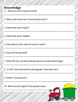 The Story of Thomas Alva Edison: Inventor