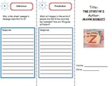 The Story of Z: Literacy Response Trifold