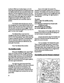 Buddhism Literature Circle: The Story of a Brahman's Daughter (Differentiated)