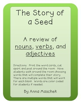 The Story of a Seed Grammar Review