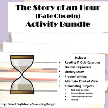 The Story of an Hour Activity Bundle (Kate Chopin) - PDF