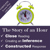 The Story of an Hour Constructed Response, Close Reading,