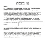 """""""The Story of an Hour"""" Lesson Materials: Text, Questions, Quiz"""