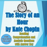 """""""The Story of an Hour"""" Questions/ Answer Key & Vocabulary List & Exit Tickets"""