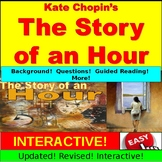 The Story of an Hour : Short Story PowerPoint, Google Slides