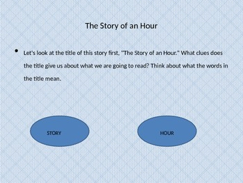 The Story of an Hour by Kate Chopin: Close Reading
