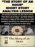 """The Story of an Hour"" Short Story Analysis Lesson"