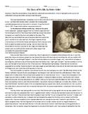 The Story of my Life by Helen Keller Worksheet